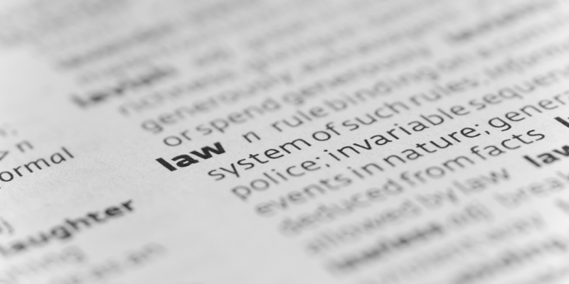 glossary of legal terms for bail bonds